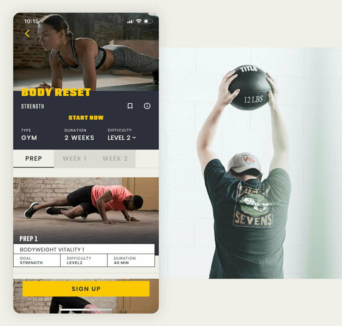 Amplify App fitness