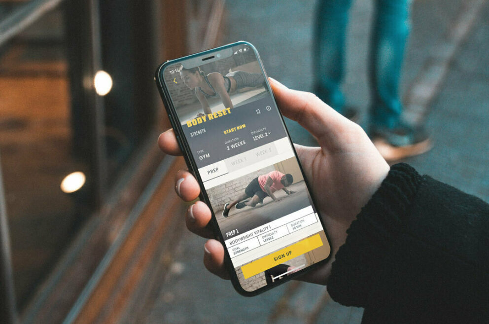 Amplify App fitness features